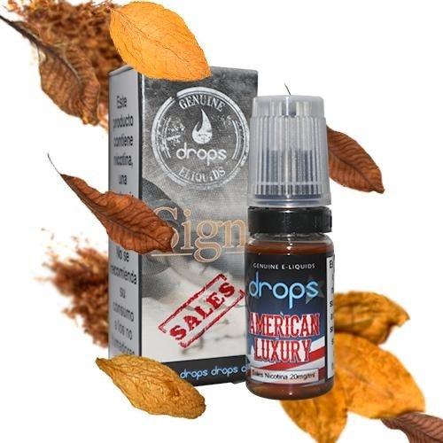 American Luxury - Drops Sales de nicotina 20mg 10 ml