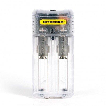 Nitecore Q2 Cargador Transparente