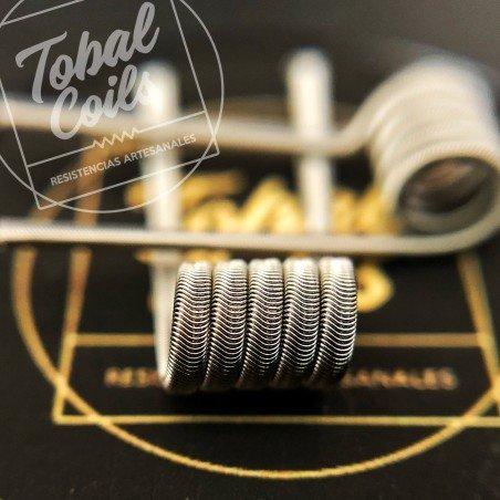 Erizo Tobal Coils Dual Coil 0.14 Ohm
