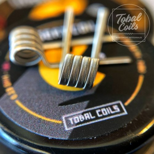 Instert Coil Tobal Coils Dual Coil 0.11 Ohm