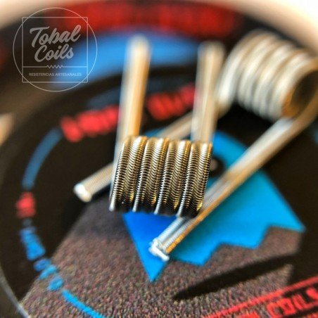 Vape Over Tobal Coils Dual Coil 0.13 Ohm