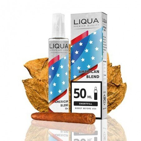 Liqua American Blend 0mg 40ml 60ml