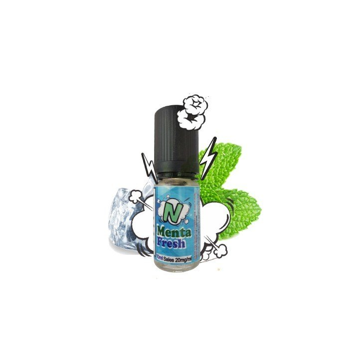 Menta Fresh N Eliquids Sales de Nicotina 10ml 20mg
