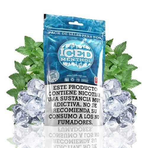 Oil4Vap Pack de Sales Iced Menthol