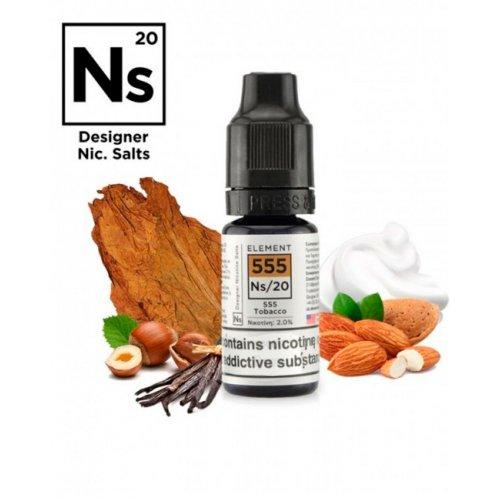 555 Tobacco Element E-liquid Salts 20mg 10ml
