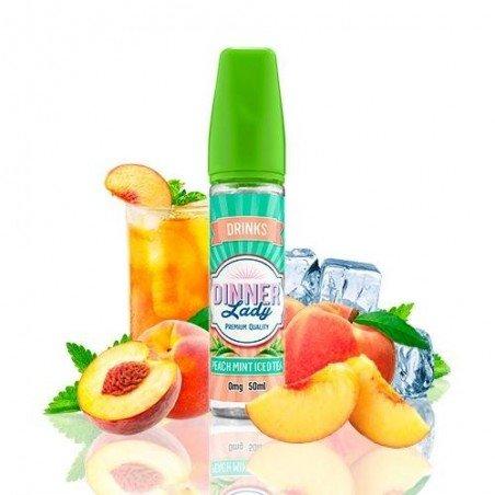Dinner Lady Drinks Peach Mint Ice Tea 50ml (shortfill)