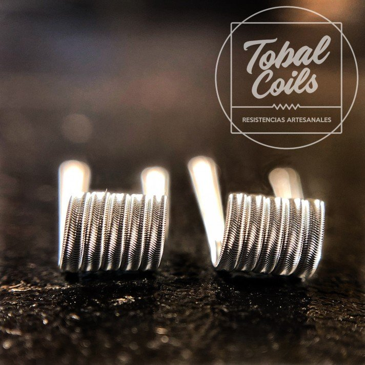 Mini Erizo Tobal Coils Dual Coil 0.21 Ohms