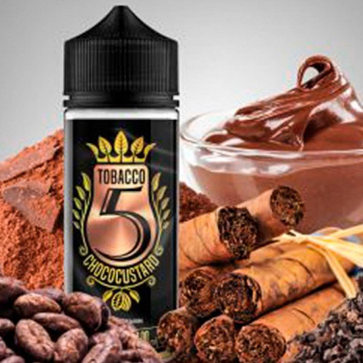 Tobacco 5 Chococustard - KV Shop 100ml 0mg