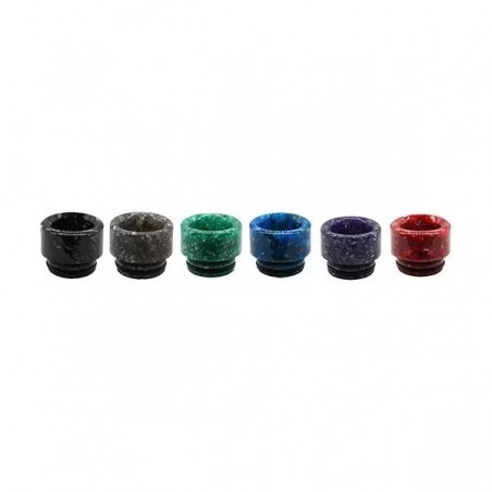 Drip Tip 810 Resina Colores (Pack de 6)
