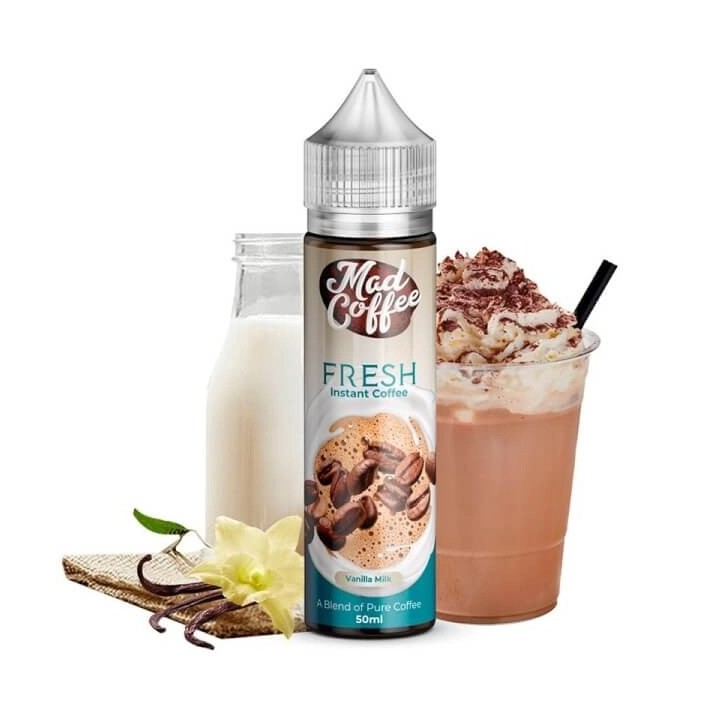 Vanilla Milk Mad Coffe 50ml (shortfill)
