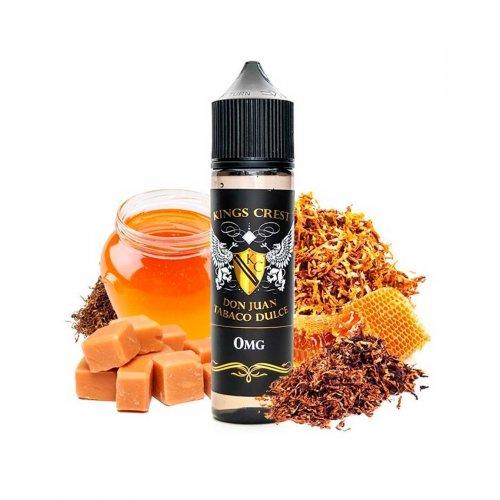 Don Juan Tabaco dulce 50 ml 0 Mg - Kings Crest