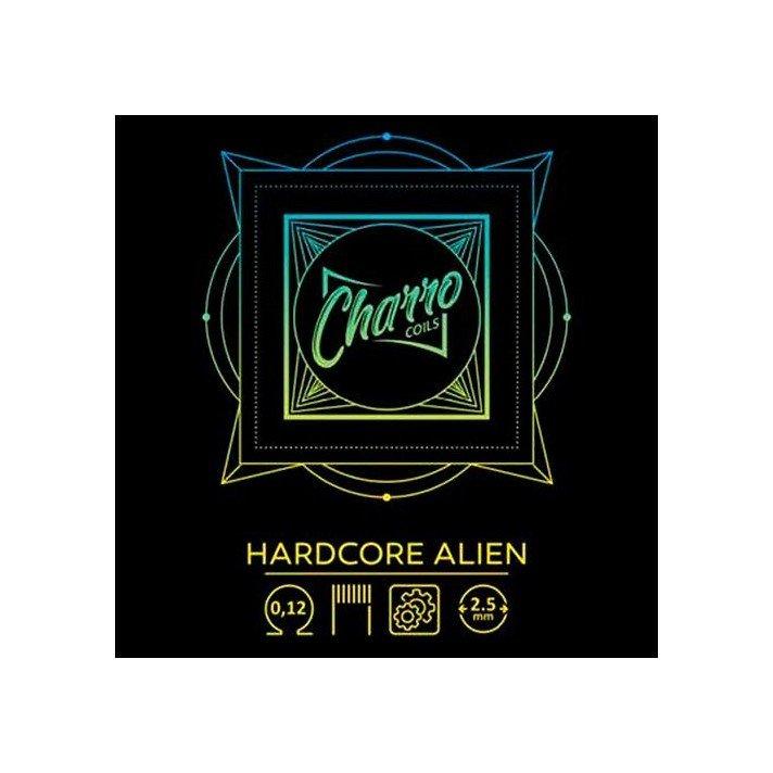 Charro Coils Hardcore Alien 0.12 Ω Dual Coil
