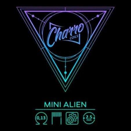 Charro Coils Mini Alien 0.13 Ω Dual Coil