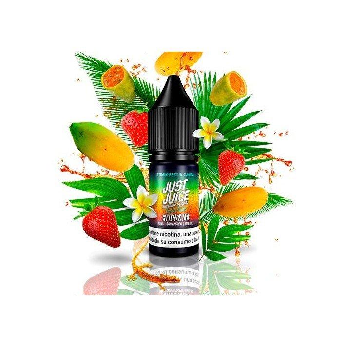 Just Juice Nic Salt Exotic Fruits Strawberry & Curuba 10ml Sales de Nicotina