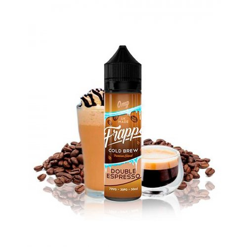 Double Expresso Frappe 0mg 50ml - Pancake Factory
