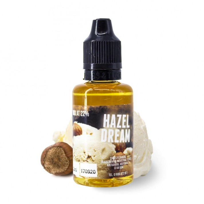 Hazel Dream - Chefs Flavours Aroma 30ml