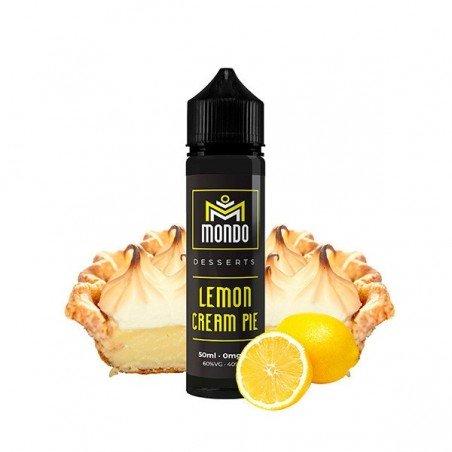 Lemon Cream Pie Mondo E-Liquids 50ml (shortfill)
