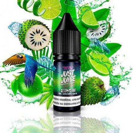 Just Juice Nic Salt Exotic Fruits Guanabana & Lime On Ice 10ml Sales de Nicotina