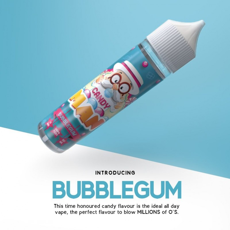 Candy Man Strawberry Bubble Gum 50ml (shortfill)