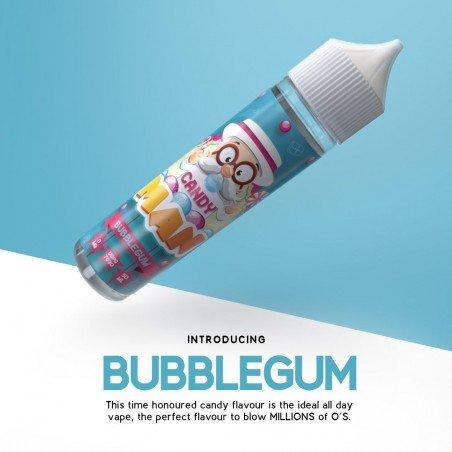 Candy Man Strawberry Bubble Gum 50ml (shortfill)