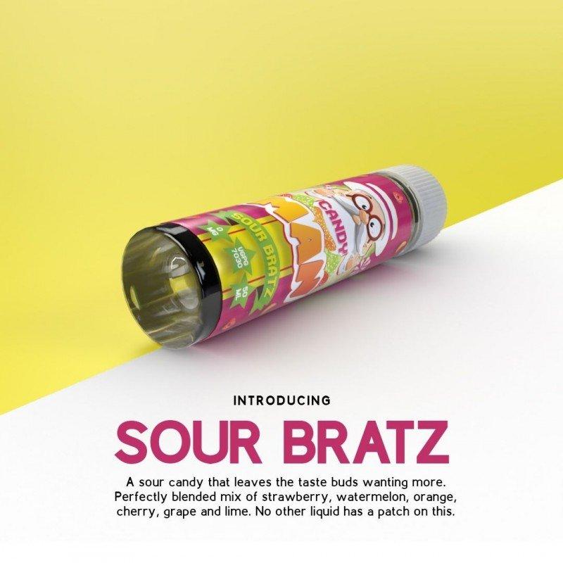 Strawberry Sour Bratz 50ml - Candy Man E liquid