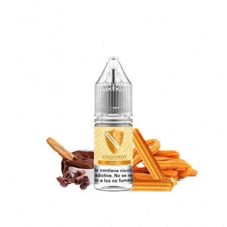 Don Juan Churro King's Crest Sales de Nicotina 10ml