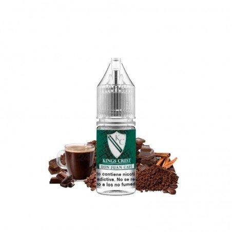 Don Juan Cafe King's Crest Sales de Nicotina 10ml