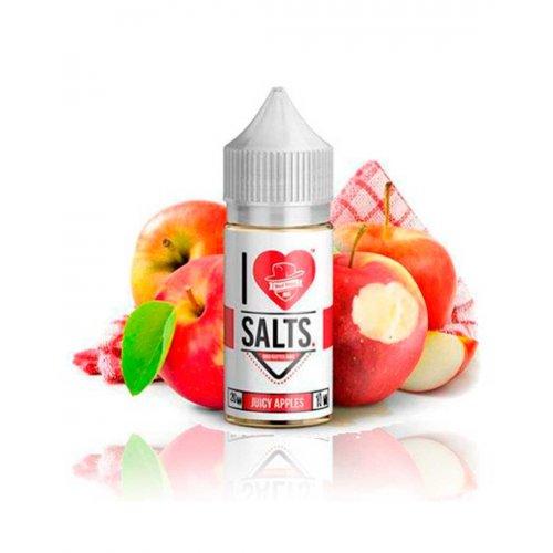 Juicy Apples 10ml 20mg - Mad Hatter I Love Salts - Sales de nicotina