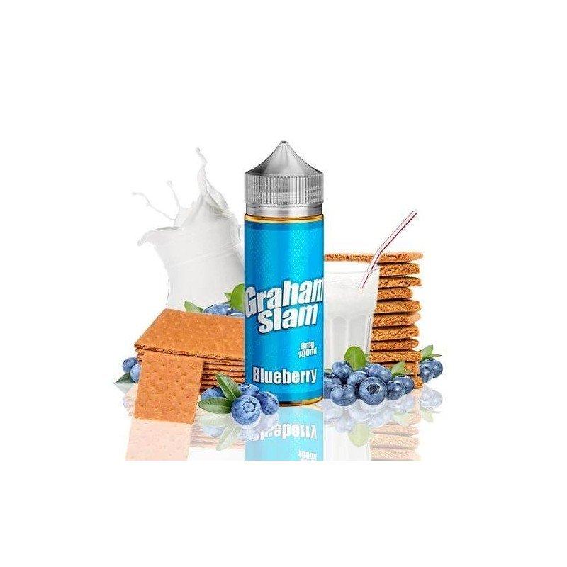 Graham Slam Blueberry by Mamasan 100ml (shortfill)
