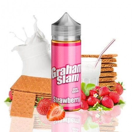 Graham Slam Strawberry by Mamasan 100ml (shortfill)