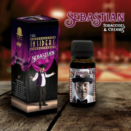 Aroma Orgánico Sebastian TVGC 11ml