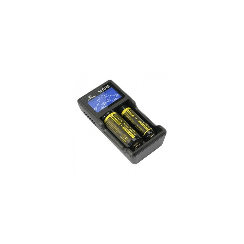 Xtar VC2 USB Cargador 2 bahías