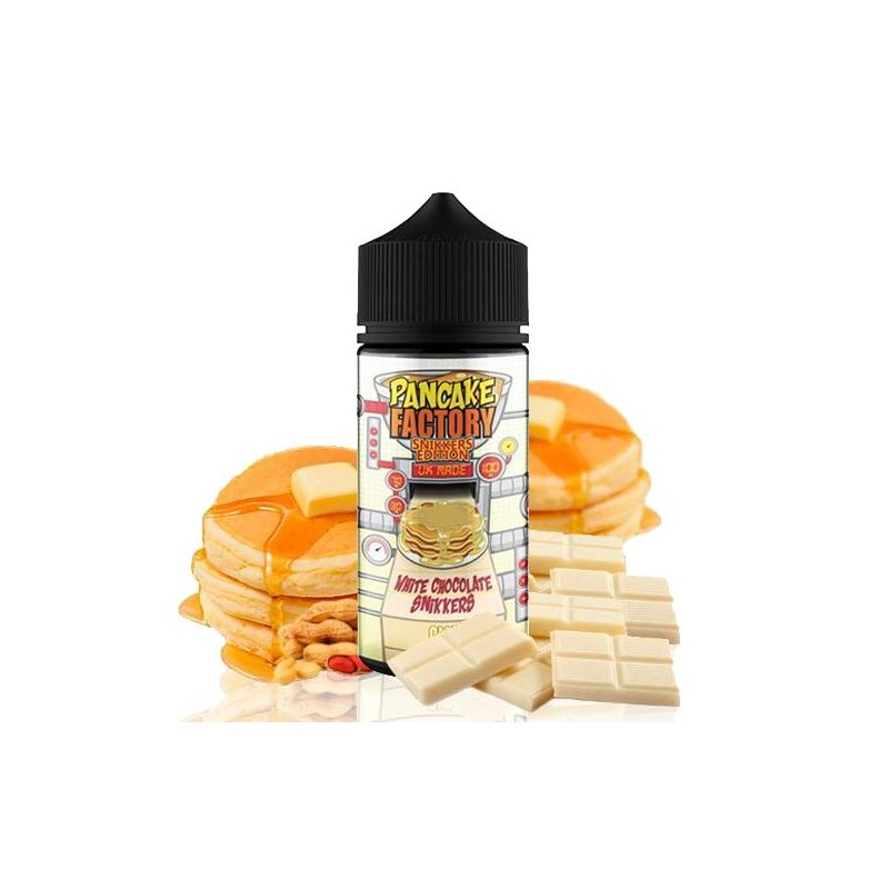 White Chocolate Snikkers Pancake Factory 100ml (shortfill)