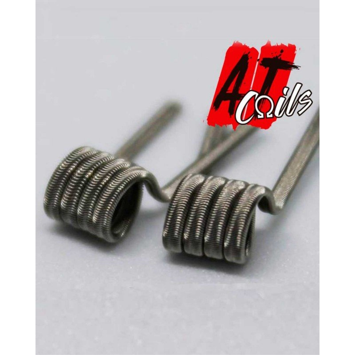 AT Coils Chapo 0,26 0,13 ohm | Resistencia artesanal