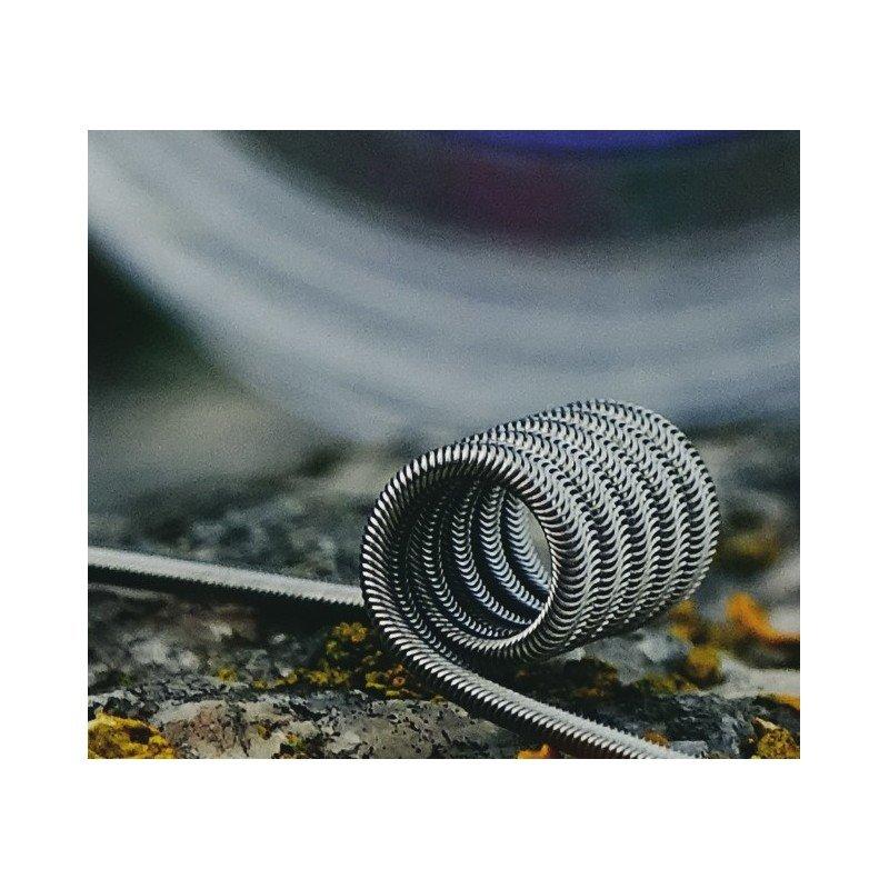 Noname 2.5mm Astur Coils 0.13 Dual Coil 0.26 Single Coil