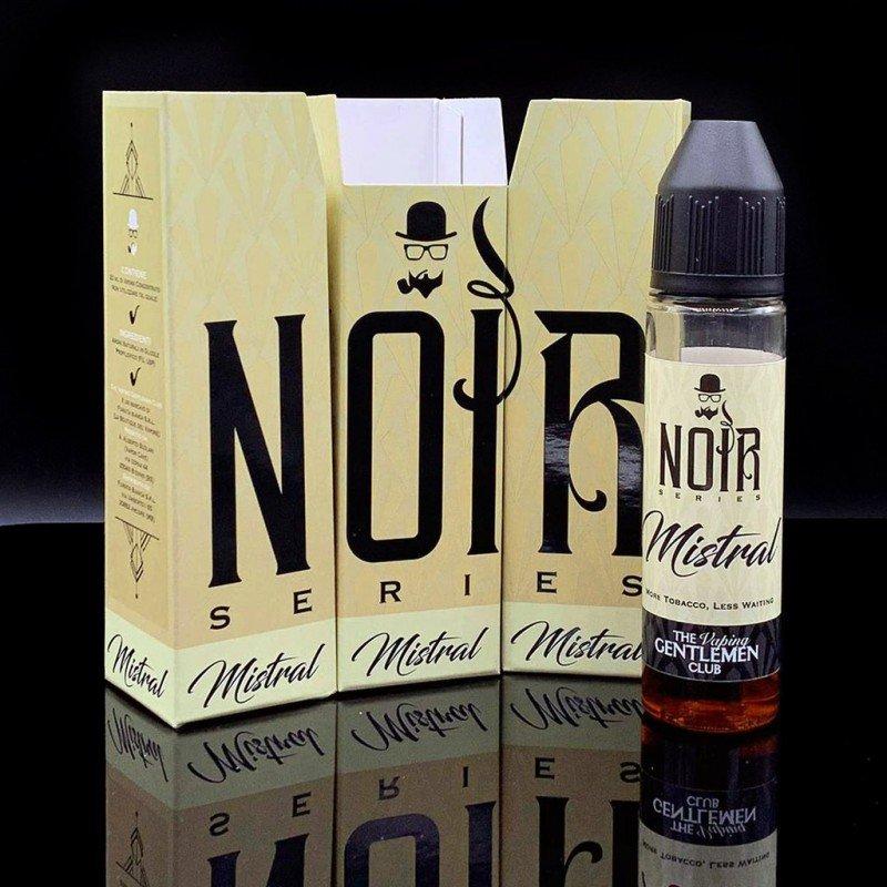 Mistral Noir - The Vaping gentlemen club Aroma Orgánico TVGC