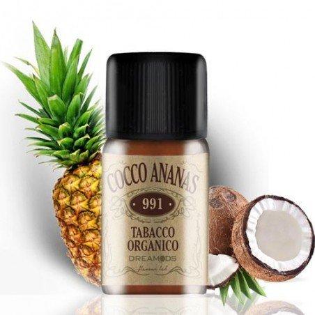 Aroma Orgánico Dreamods Tabacco Cocco Ananas 10ml