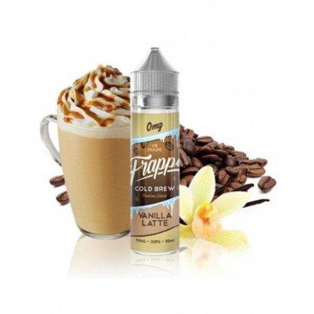 Vanilla Latte Frappe 0mg 50ml - Pancake Factory