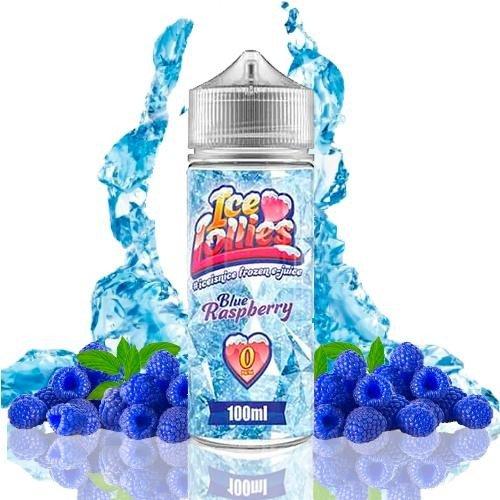 Blue Raspberry - Ice Love Lollies 100ml 0 mg