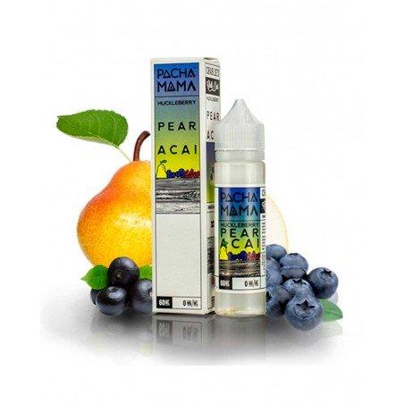 Huckleberry Pear Acai 0mg 50ml - Pachamama