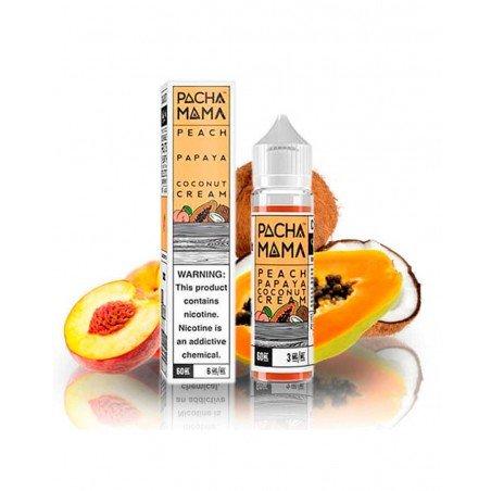Peach Papaya Coconut Cream - Pachamama 0mg 50ml