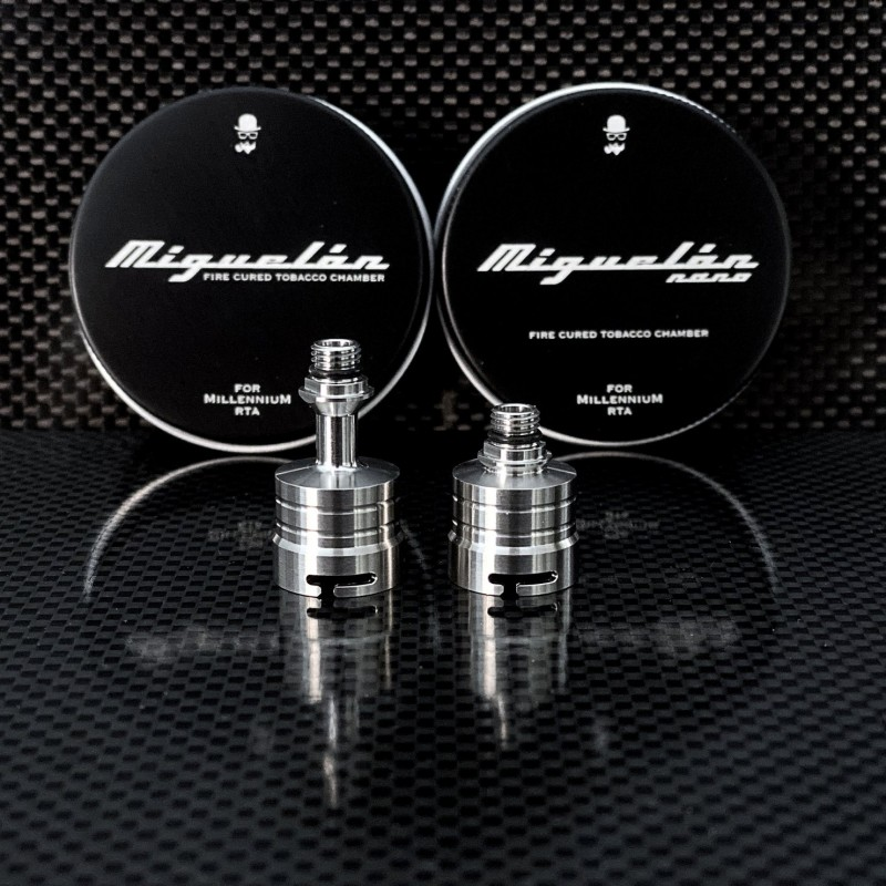 Campana Miguelón Millenium RTA The Vaping Gentlemen Club TVGC