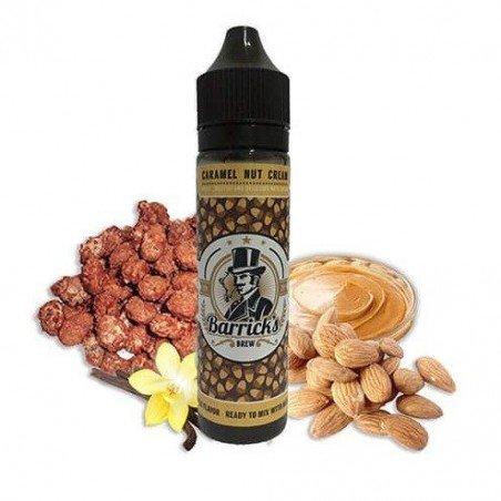 Caramel Nut Cream - Barrick's Brew 0 mg 50ml 60ml