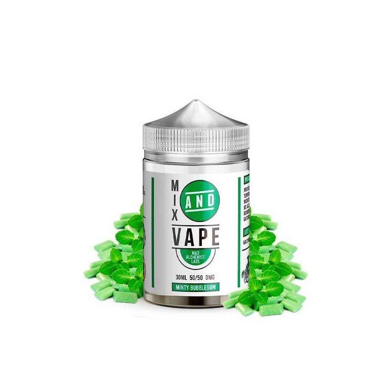Minty Bubblegum Mix & Vape Mad Alchemist Labs 30ml