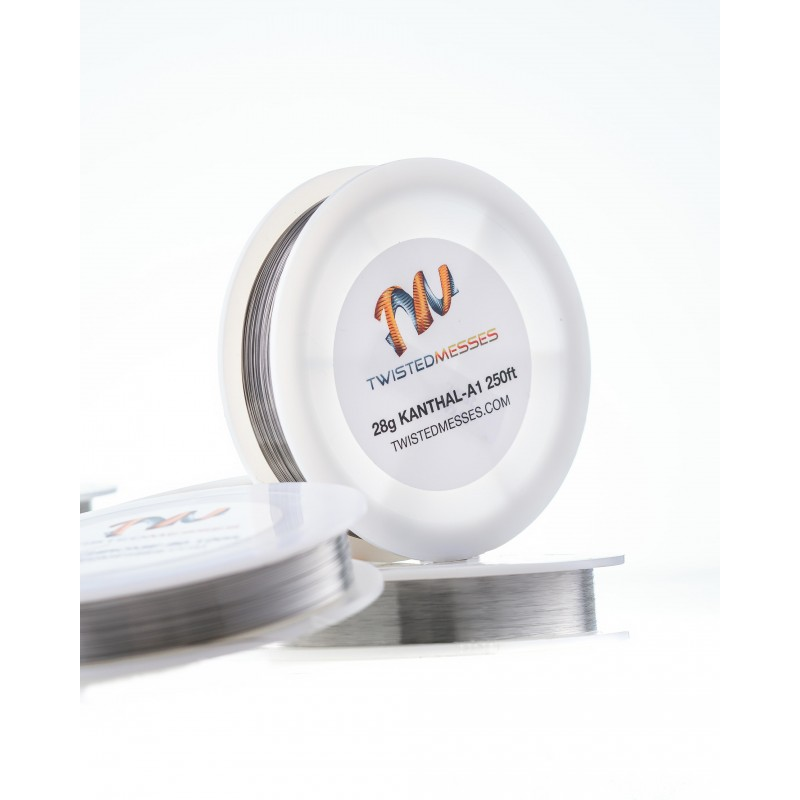 Kanthal A1 28G 75m Twisted Messes Wire