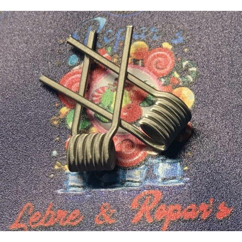 Lebre & Repar's Ni90 0,16 Ohms Lebre Coils