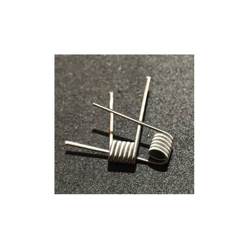 Fused Clapton Ni80 0,18 Ohms Lebre Coils