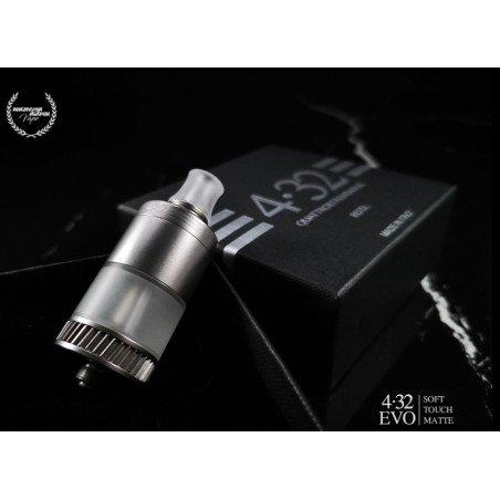 4.32 EVO MTL RDTA Angry Fox Vape Soft Touch Matte Edition