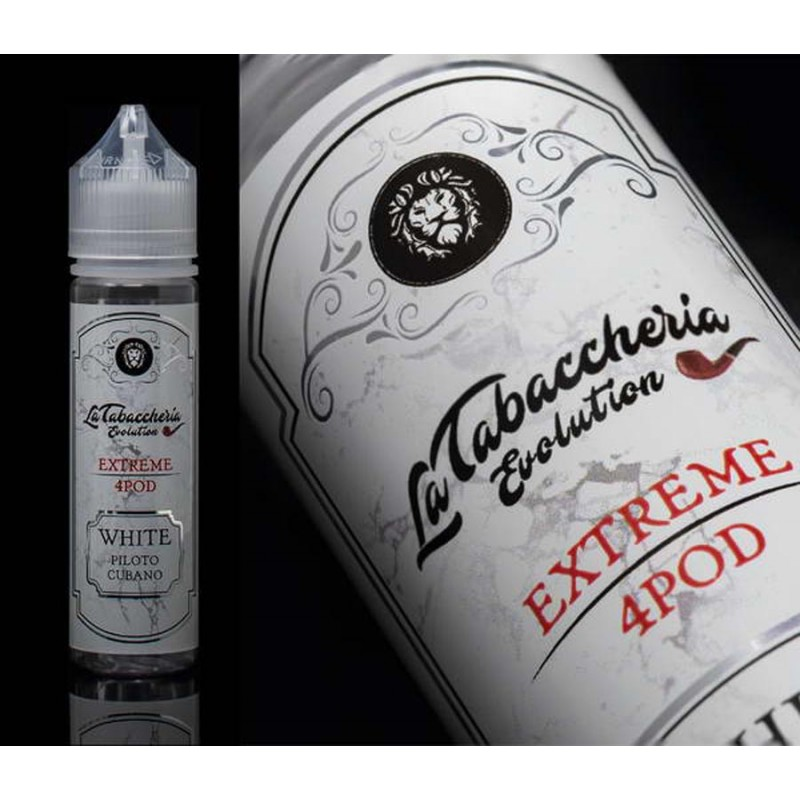 White Piloto Cubano - La Tabaccheria Extreme 4 Pod 20 ml