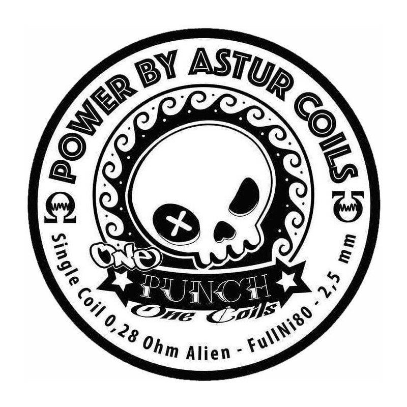 Punch Astur Coils 0.28 Ohm